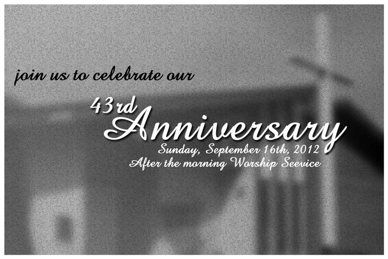 Celebrating 43 Years!