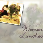Womens Luncheon – Nov 4th
