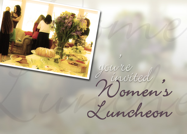 Womens Luncheon – Nov 4th